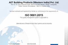 AET Building Products (Western India) Pvt